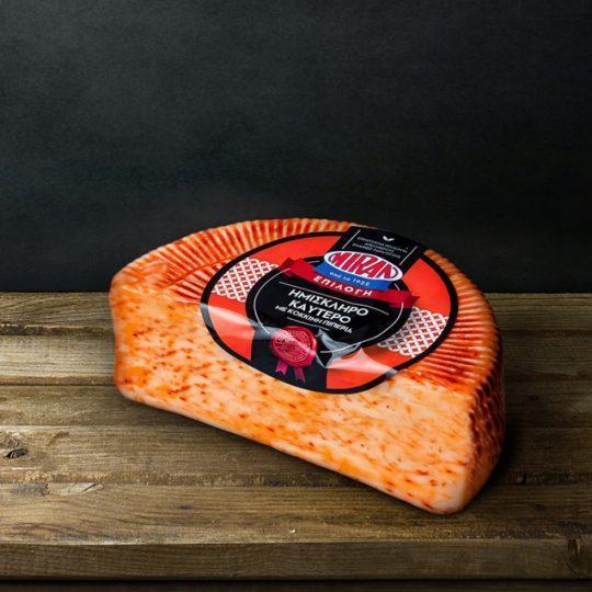 Ημίσκληρο Τυρί Καυτερό