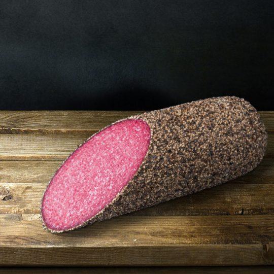 Σαλάμι Αέρος με Μαύρο πιπέρι